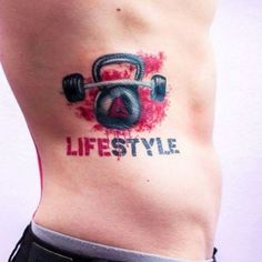 16 Fitness Tattoos For Your Motivation Tattoos Tattoos, Fitness tattoos, Remembrance tattoos Here we have best picture about gym body tat. Fitness Tattoos, Body Art Tattoos, Hand Tattoos, Sleeve Tattoos, Great Tattoos, Beautiful Tattoos, Tattoos For Guys, Tattoo Pain, Bee Tattoo