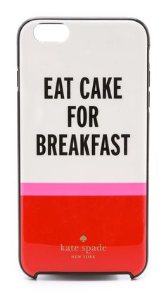 kate spade new york Eat Cake iPhone 6 Case available for $45.00