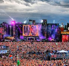 Tomorrowland. I will attend this event one day before I die.