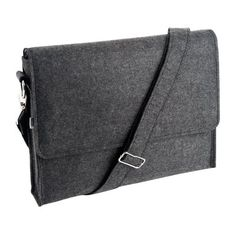 Charcoal Felt Laptop Satchel | All Products | Bags & Accessories | Bags | Shop | kikki.K Stationery & Gifts