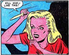 Image in pop art, pulp art, retro art, and illustrations collection by Jonnie Vintage Pop Art, Vintage Comic Books, Vintage Comics, Comic Books Art, Comic Art, Old Comics, Comics Girls, Comic Book Panels, Retro Pop