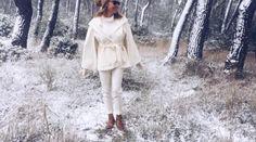 Τατιάνα Στεφανίδου: Βόλτα στα χιονισμένα βόρεια προάστια Crazynews.gr