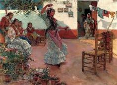 Guerrero Manuel Ruiz - The Flamenco Dance Spanish Dance, Latin Dance, Dance Art, Artists Like, Famous Artists, Dance Dreams, Spanish Painters, Oil Painting Reproductions, Dance Photos