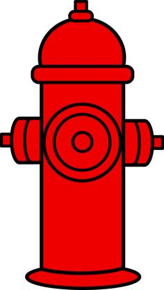 Red Fire Hydrant Clipart