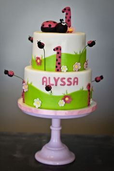 I think Cailyn will have to have a lady bug themed 1st birthday party:0)
