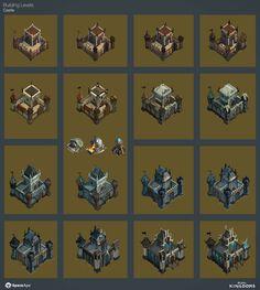 ArtStation - Rival Kingdoms : Castle, Josh Atack