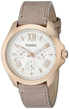 Fossil Women's AM4532 Cecile Multifunction Leather Watch - Sand Fossil http://www.amazon.com/dp/B00I1S2W4A/ref=cm_sw_r_pi_dp_26ipvb0S2GF1V