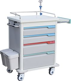 trolley emergency trolley hospital furniture medicine trolley contact:chenjinbiz@hotmail.com Bed Pads, Hospital Bed, Medical Equipment, Medicine, Accessories, Furniture, Home Decor, Homemade Home Decor, Medical