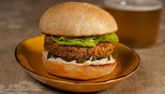 Anson Mills' Black eyed pea burgers - gluten free and vegetarian, vegan too?
