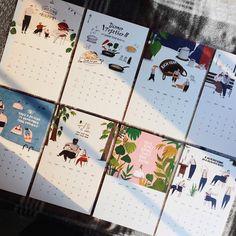 19 Ideas for wedding card design layout Calendar Layout, Diy Calendar, Printable Calendar Template, Calendar Design, Desk Calendars, Graphic Design Magazine, Magazine Design, Typographic Poster, Design Poster