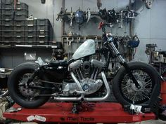Rigid_EVO Bratstyle Japanese Influence Bike Photos - Page 8 - The Sportster and Buell Motorcycle Forum