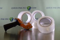 "Quick Packaging News: 2"" X 1.8MIL X 110YD CLEAR ACRYLIC TAPE"
