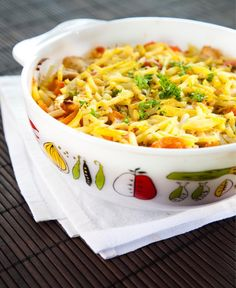 Broilerikiusaus Macaroni And Cheese, Nom Nom, Food And Drink, Dinner, Ethnic Recipes, Koti, Red Peppers, Suppers, Mac And Cheese