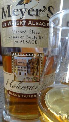 Mais, c'est Made in France...WHISKY MEYER BLEND... 1- Vanille, caramel... 2- Fruit, caramel... 3- Sucré, et légère amertume...