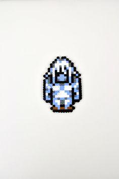 Umaro from Final Fantasy VI Magnet Perler Bead by TheCraftyChimera