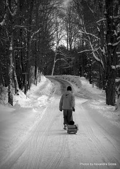 Vermont Winter - Photos by Alexandra Gitzes