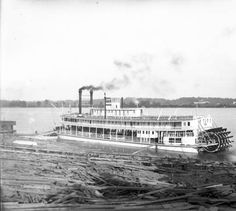 CITY OF MEMPHIS, 1898. :: Howard Steamboat Museum Collection Memphis City, Steam Boats, Paddle Boat, Power Boats, Museum Collection, Model Ships, Tall Ships, Water Crafts, Rivers