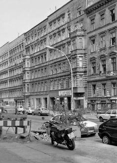 Berlin in den 90ern : Kastanienallee, Prenzlauer Berg, 1992