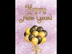 Glückliches, gesundes, neues Jahr! - YouTube Videos, Christmas Bulbs, Holiday Decor, Youtube, Home Decor, Health, Decoration Home, Christmas Light Bulbs, Room Decor