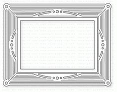 Papertrey Ink - Charmed Frame Die