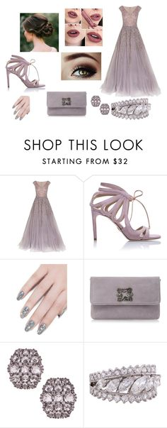"""""""prom look"""" by cocoandshiloh2000 on Polyvore featuring Georges Hobeika, Chelsea Paris, ncLA, women's clothing, women, female, woman, misses and juniors"""