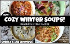 Cozy Winter Soups Autumn Winter Recipes, Winter Soups, Winter Food, Korma, Biryani, Cozy Winter, Mama Recipe, Soup Mixes, Soup Recipes