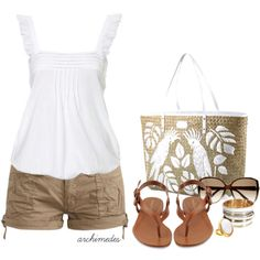 25 Summer Outfits From Polyvore   # Pinterest++ for iPad #