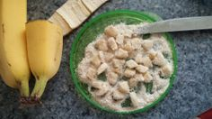 Beginner finger food tip: roll tiny pieces of slippery food (bananas, avocados, etc.) in oatmeal that has been ground into a flour. I took a shortcut and used oatmeal baby cereal ;-)
