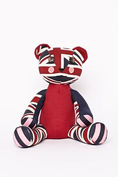 The Jack Wills Bear from Jack Wills Jack Wills Style, British Style, About Uk, Great Britain, Tigger, Bear, Union Jack, Anarchy, My Style