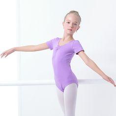 Verano Niñas Leotardos de Ballet Niños Manga Corta Gimnasia Leotardo Ballet Dancewear Ropa de Algodón Negro en Ballet de Novedad y de Uso Especial en AliExpress.com | Alibaba Group