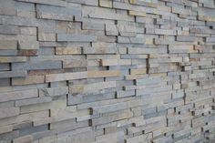 linear charcoal grey stone veneer - Google Search
