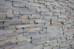 linear charcoal grey stone veneer - Google Search