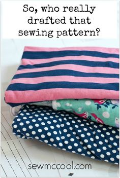 Who drafted that pattern Take a look behind the scenes of PDF sewing pattern design. On sewmccool.com