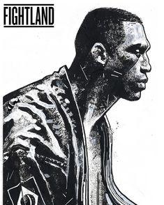 Conheça Gian Galang, o artista que transforma astros do UFC em incríveis ilustrações (Foto: Fabricio Werdum/UFC)