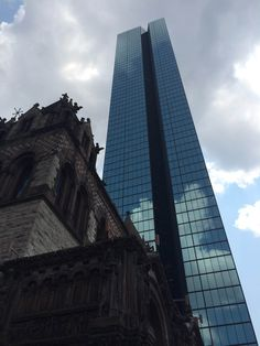 The views at the Copley Square Market are pretty spectacular!