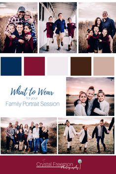 I was so impressed with how this large multi-family group coordinated their clothing for their photo Navy Family Pictures, Extended Family Pictures, Fall Family Picture Outfits, Family Pictures What To Wear, Family Picture Colors, Family Portrait Outfits, Winter Family Photos, Large Family Photos, Family Picture Poses