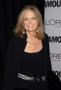Gloria Steinem, born in Toledo, Ohio