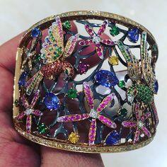 fronktwoot84#cuff #sensational #semiprecious #watches #want #diamond #diamonds…