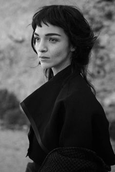 Peter Lindbergh + Maria Carla Boscono. I was dreaming about this collaboration for so long!