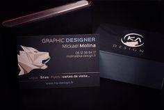 Graphiste Freelance Carte De Visite Graphisme Cartes Portrait
