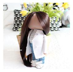 portrait textile doll by eva-dolls.com