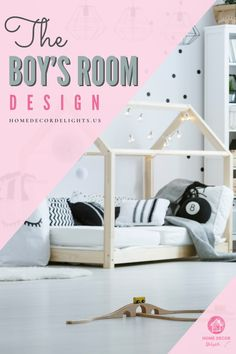When converting a nursery to a little boy's room, there are some furniture elements you may need to sell or giveaway. For example, if you don't have a convertible crib, you'll probably need to upgrade to a toddler bed. The first step in repurposing the furniture in your room to create a new design aesthetic is to take inventory of the furniture in your room. #home #decor #boys #roomdesign #homedecor