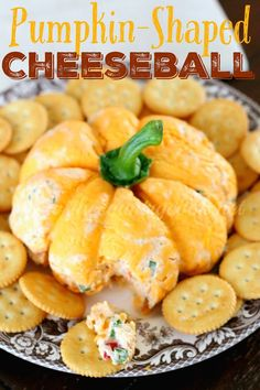 I don't know about y'all but I love a good cheeseball. I mean, cheese. In a ball. Need I say more? What's not to love? Cheese and crackers...