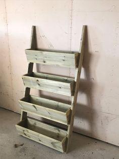 Plantekasser   FINN.no Ladder Bookcase, Wood, Gardening, Home Decor, Furniture, Decoration Home, Woodwind Instrument, Room Decor, Timber Wood