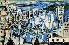Picasso / The Bay of Cannes, 1958