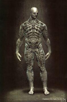 Prometheus concept art
