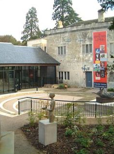 The Museum in The Park, Stroud-----displays and activities connected with both Laurie Lee and Rev Awdrey, author of 'Thomas the Tank' (see our previous pins on Thomas)