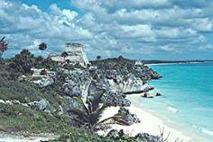 Tulum Ruins and Beach Photo -