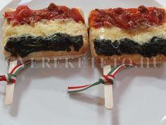 magyar zászló pizza
