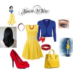 Snow White - Polyvore